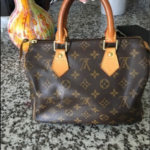 Louis Vuitton Monogram Canvas Speedy 25